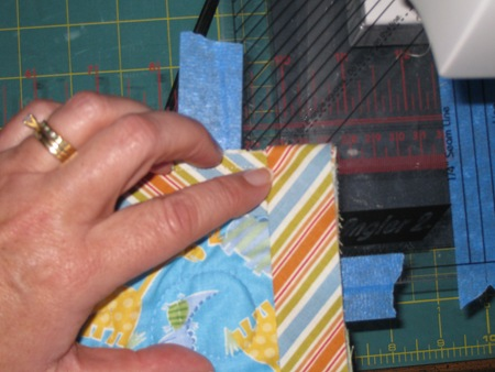 fold binding down