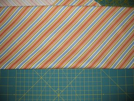 Fold fabric up