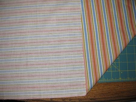 Fold at 45 degree