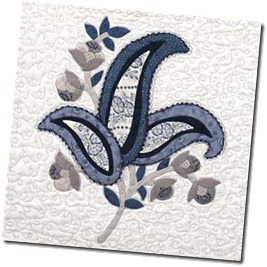 Embroidery block